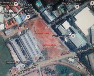 Área industrial para venda