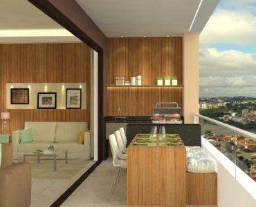 Apartamentos de 2 ou 3 quartos  no  Edificio Residencial Jacy