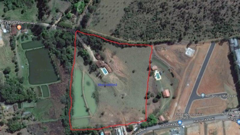 Area para residenciais ou condominios fechados