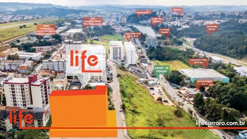 Deseja morar ou investir ? no Life by Carraro !