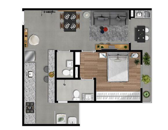 Deseja morar em um apartamento suite no Life By Carraro  em Bragança Paulista ?